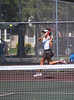 Girls High School Tennis.  Horseheads Blue Raiders at Corning Hawks.  August 30, 2013.