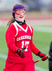 Girls High School Varsity Lacrosse. Canandaigua Academy Braves at Corning Hawks. March 23, 2013.