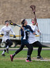 Girls High School Junior Varsity Lacrosse, Brighton Barons at Corning Hawks, April 20, 2013.