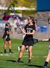 Girls High School Varsity Lacrosse.  Corning Hawks at Horseheads Blue Raiders.  May 1, 2013.