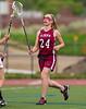 Girls High School Junior Varsity Lacrosse. Elmira Express at Corning Hawks.  May 8, 2013.