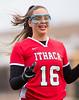 High School Junior Varsity Girls Lacrosse.  Ithaca Little Red at Corning Hawks.  May 13, 2013