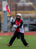 High School Girls Junior Varsity Lacrosse.  Canandaigua Academy Braves at Corning Hawks, March 23, 2013.