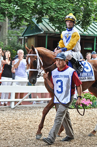 Golden Soul, trained by Dallas Stewart, with Robby Albarado up.