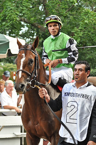 Pick of the Litter, trained by Dale Romans, with Jesus Castanon up.