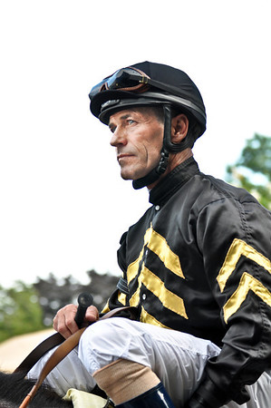 Hall of Fame jockey Gary Stevens.