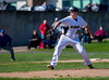 High School Varsity Baseball.  Maine-Endwell Spartans at Corning Hawks.  April 22, 2013.