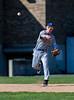 High School Varsity Baseball.  Maine-Endwell Spartans at Corning Hawks.  April 22, 2013.