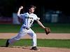 High School Varsity Baseball.  Union-Endicott Tigers at Corning Hawks.  May 6, 2013.
