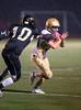 High School Varsity Football.  Vestal Golden Bears at Corning Hawks.  September 12, 2013.  Vestal 30, Corning 13.