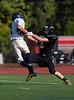 Junior Varsity High School Football.  Susquehanna Valley Sabers at Corning Hawks.  September 28, 2013.