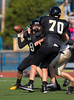 Junior Varsity High School Football.  Susquehanna Valley Sabers at Corning Hawks.  September 28, 2013.
