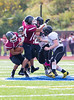 High School Varsity Football. Corning Hawks at Elmira Express. October 5, 2013.