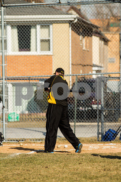 2013 Joliet West Freshman Baseball Game 1 at Thorntons