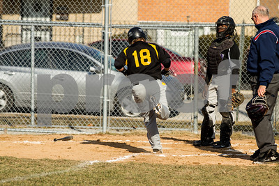 2013 Joliet West Freshman Baseball Game 1 vs Thornton-4013