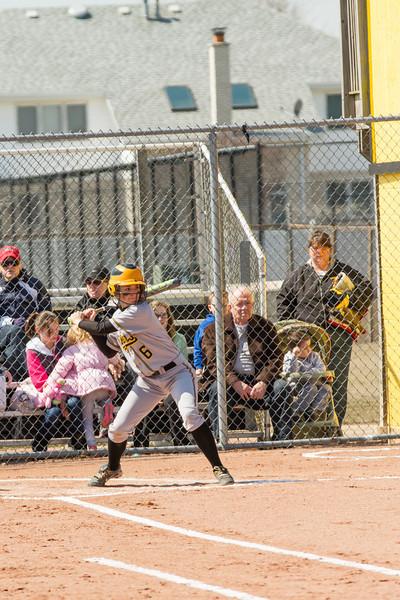 2013 Joliet West Varsity Girls Softball at Andrews