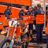 Roger DeCoster and KTM Team in the Pits - 24 Aug 2013