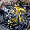 Broc Tickle's Bike at Lake Elsinore - 24 Aug 2013