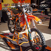 Andrew Short's Bike at Lake Elsinore - 24 Aug 2013
