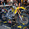 Jason Anderson's Bike at Lake Elsinore - 24 Aug 2013