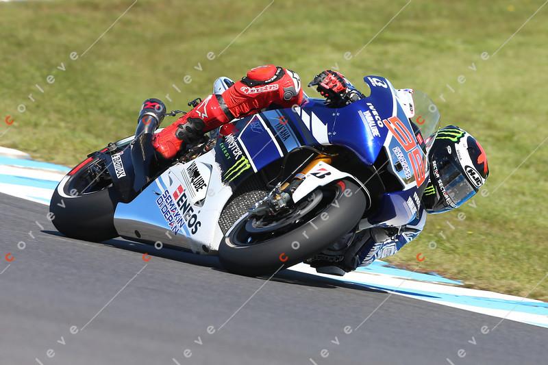 World Moto GP Championship. Round16 @Phillip Island. Australia. TISSOT Australian Motorcycle Grand Prix. Friday. 18.10.2013.#99 Jorge LORENZO (ESP) Yamaha Factory Racing  during morning pracice.© ATP / Damir IVKA