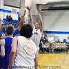 Saltillo Lions vs Yanis Owls  Di- District Playoff basketball game 2-17-14