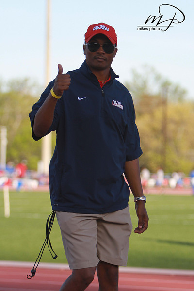 Ole Miss Head Track & Field coach.<br /> Brian O'Neal