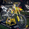 Broc Tickle's Suzuki - Pit Party - 4 May 2013