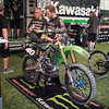 Martin Davalos' Kawasaki - Pit Party - 4 May 2013