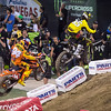 Ken Roczen presses Ryan Sipes - 250 West SX Final - 4 May 2013