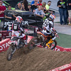Marvin Musquin passes Will Hahn - 250 East SX Final - 4 May 2013