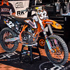 Malcomb Stewart's KTM - Pit Party - 4 May 2013