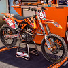 Ken Roczen's KTM - Pit Party - 4 May 2013