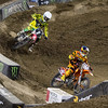 Eli Tomac about to pass Ken Roczen - 250 West SX Final - 4 May 2013