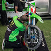 Ryan Villopoto's Kawasaki - Pit Party - 4 May 2013