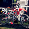 Chad Reed's Honda - Pit Party - 4 May 2013