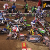 Chad Reed takes down half the field at start of 450 Main - 2 Feb 2013