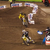 Justin Barcia closes on Davey Millsaps and James Stewart in 450 Main - 2 Feb 2013