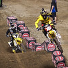 James Stewart presses Davey Millsaps in 450 Main - 2 Feb 2013
