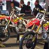Team Geico Honda at the Pit Party - 2 Feb 2013