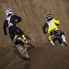 James Stewart pushes Davey Millsaps in 450 Main - 2 Feb 2013