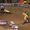 James Stewart pressures Davey Millsaps, who almost loses it in 450 Main - 2 Feb 2013