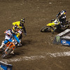 James Stewart closes on Davey Millsaps and Ryan Dungey in 450 Main - 2 Feb 2013