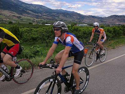 Scenic Oliver bike course