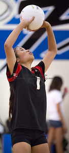 9/11/2013:  Photograph taken during Troy High's volleyball match at La Mirada. mccormackphotography.com / jim.mccormack@mac.com