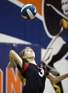 Photographs of 2013 Troy High School Freshman and Junior Varsity volleyball teams.