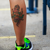 Saw this lady with Ganesha tattooed on her Calf Muscle.....