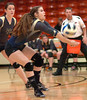 #21 for Rye Cove plays shot from Aubrun hitter. Photo by Ned Jilton II
