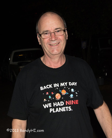 """This was my pick of """"Fun T-Shirt."""" The back didn't have any writting but I suggested: """"And Pluto wasn't just a dog!"""" or """"And, there were only 5 continents!"""""""