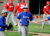 5/10/2013 Mike Orazzi | Staff<br /> Bristol Eastern's Dave Levesque (16) after pitching a 4-0 win over Berlin at Muzzy Field on Friday.